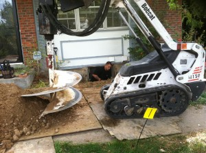 egress window installation process excavation