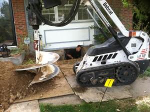 egress window installation process excavation