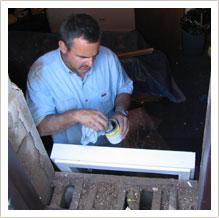 egress basement window installation