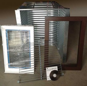 Exo-Frame DIY Egress Window Kit
